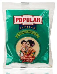Popular Dinner Appalam Image