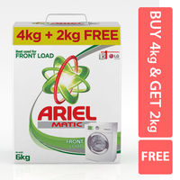Ariel Buy 4Kg + 2kg Matic Front Load Washing Powder Image