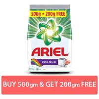 Ariel Colour Detergent Washing Powder Saver Pack (500g+200g) Image