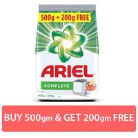 Ariel Complete Detergent Washing Powder Saver Pack (500g+200g) Image