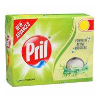 Pril Lime And Vinegar Dish Wash Bar Image
