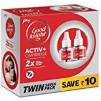 Good Knight Activ+Cartridge Refill Twin Save Pack Image