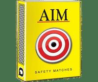 Aim Wax Match box Image