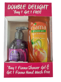 Fiama Di Wills Di Wills Peach & Avocado Shower Gel with FREE Handwash Image