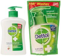Dettol Original Liquid Hand Wash - Everyday Protection Image