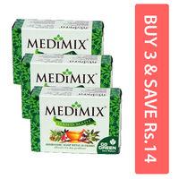 Medimix Hand Made Ayurvedic Soap (Pack of 3) Image
