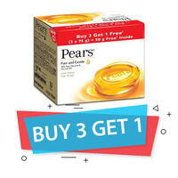 Pears Pure And Gentle Soap - B3G1 (4x75gm) Image