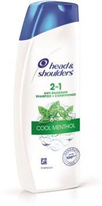 Head & Shoulders 2 In 1 Cool Menthol Shampoo Plus Conditioner Image