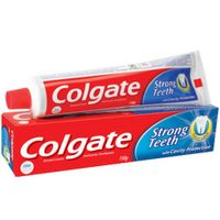 Colgate Dental Cream Strong Teeth With Cavity Protection Toothpaste Image