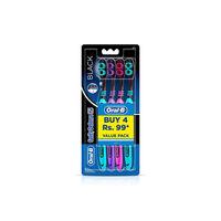 Oral-B Cavity Defense123 Black Tooth Brush - soft Image