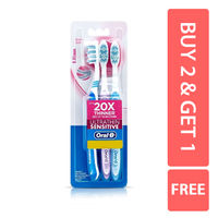 Oral-B Ultra Thin Sensitive Toothbrush (B2 G1 Free) - extra soft Image