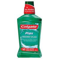 Colgate Plax Freshmint Splash Mouth Wash Image