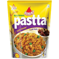 Bambino Instant Tasty Masala Fusilli Pasta Image