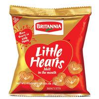 Britannia Little Hearts Biscuits Image