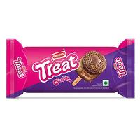 Britannia Treat Funky Chocolate biscuits Image