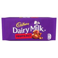 Cadbury Dairy Milk Fruit And Nut Image