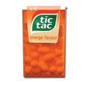 Tic Tac Orange Flavoured Chocolate Image