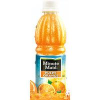 Coca Cola Minute Maid Pulpy Orange Juice Image