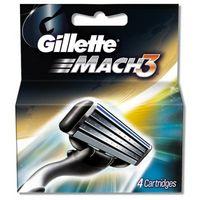 Gillette Mach3 4 Cartridge Image