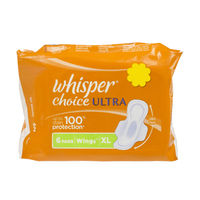 Whisper Choice Ultra XL Wings Sanitary Napkin Image