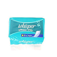 Whisper Maxi Fit Wings Regular Sanitary Napkin Image