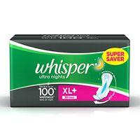 Whisper Ultra Nite XL+ Sanitary Napkin Image