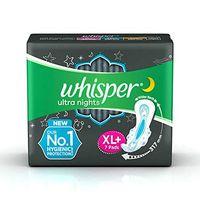 Whisper Bindazzz nights XL+ Sanitary Napkin Image