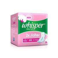Whisper Soft Pink XL+ Sanitary Napkin Image