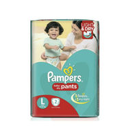 Pampers Happy skin pants Large Image