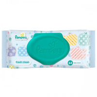 Pampers Fresh Clean Baby Wipes (B3G1 Free) Image