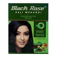 Black Rose Black Dye Image