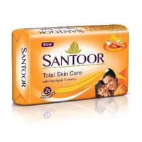 Santoor Sandal and turmeric soap Image