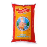 Ganapathy refined groundnut oil Image