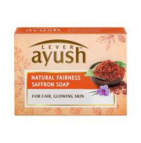 Lever Ayush Natural fairness saffron soap Image