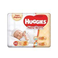 Huggies New Born (XS) - Tape Diapers Image