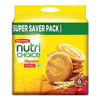 Britannia Nutri Choice  Digestive Biscuits - Super saver pack Image