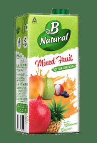 B Natural Mixed fruit juice Image