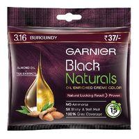 Garnier 3.16 Burgundy shampoo based hair color Image