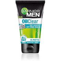 Garnier Men Oil Clear Icy Facewash Image