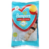 Pampers Happy skin pants - New born (upto 5kg) Image