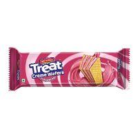 Britannia Treat creme wafers - Strawberry Image