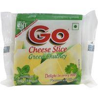 Go cheese Green chutney Slice Image