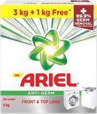 Ariel Antigerm detergent powder (front & top load) Image