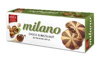 Parle Milano center filled hazelnut cookies Image