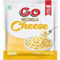Go Mozzarella cheese block Image