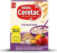 Nestle stage 5 - 5 grains & fruits Image