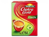 Chakra Gold Elachi flavored tea Image