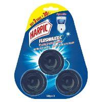 Harpic Flushmatic - triple pack - aquamarine Image