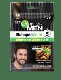 Garnier Shampoo Colour - 3 brown black Image