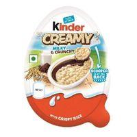 Kinder Creamy milky & crunchy Image